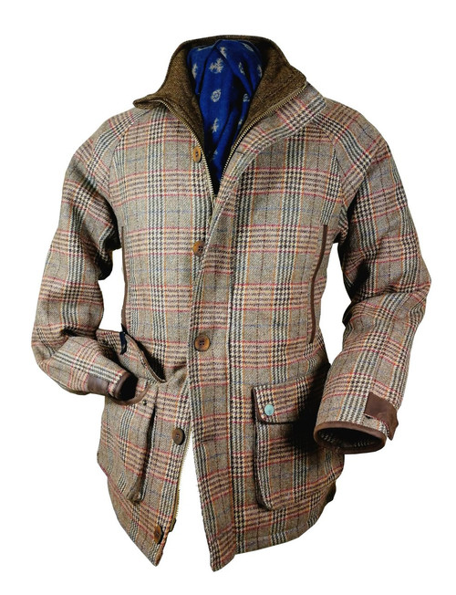 Mens 'Prufrock' Luxury Tweed Waterproof Jacket