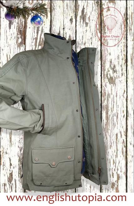 Mens 'Stormer' Double Cotton Storm Jacket