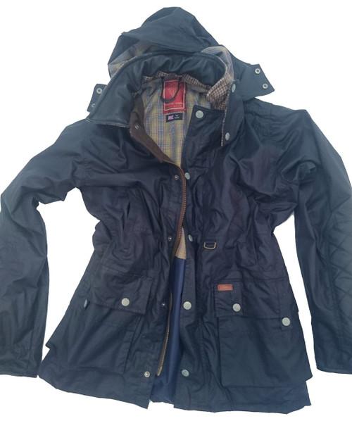 Mens 'Hotspur' Lightweight Waxed Cotton Jacket