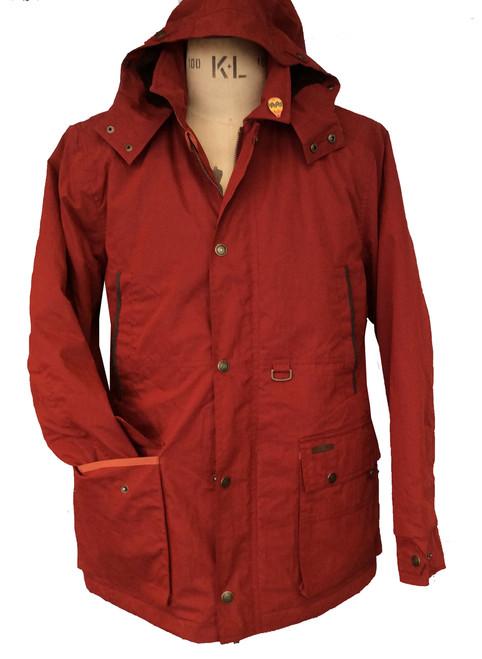 Mens 'Noden' Waterproof Dried Waxed Jacket
