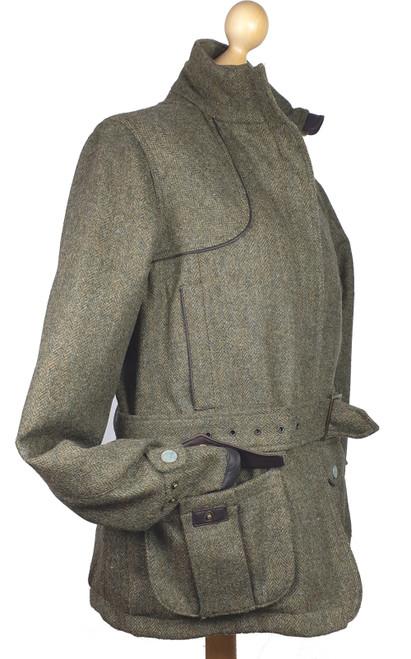 Guinevere Divine Luxury Womens Tweed Waterproof Field Coat