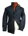 Mens 'A.L. Morton' Down Touch Quilted Jacket