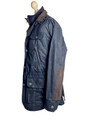 Mens 100% Cashmere lined Waxed Jacket - The Ivanhoe