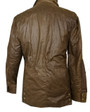 Mens 'Ivanhoe De Luxe' Brown Waxed Jacket