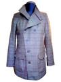 Eliot Extra fine merino waterproof coat