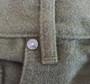 Moleskin Custom Jean. English made with English fabric. Deerskin Trim