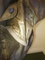 Mens size  L 'Kelsher' Tan Waterproof Goose Down Jacket was £675 (sample)