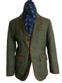 Mens 'Floyd' Tweed Jacket Plaid Check