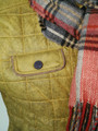 Mens 'Puck' Luxury Vintage Finish Quilt Jacket