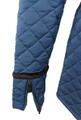 Womens Faux Fur Lined Quilted Parka Jacket