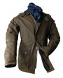 Mens 'Robin Hood' Waterproof Waxed Jacket
