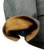 Suede Trim inner cuffs