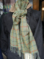 'Delph Yorkshire' Check Lambswool Scarf