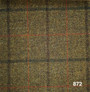 2 Ply Merino Wool Game Fair Check - Reference 872