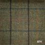 2 Ply Merino Wool Chekov Check - Reference 874