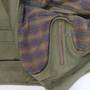 Mens 'Eliot' Khaki Cotton Travel Jacket