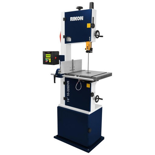 RIKON Model 10-326DVR:  14″ Deluxe Bandsaw with Smart Motor DVR Control