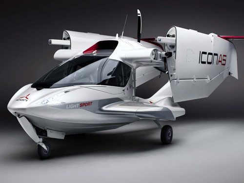 ICON A5 the Coolest Airplane You Can Purchase Without a Full Pilot License