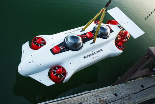 DeepFlight the Personal Submersible that Allows You to be an Underwater Astronaut