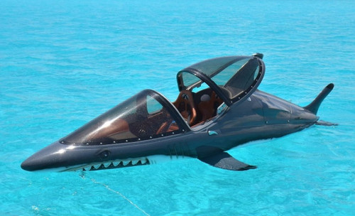 Seabreacher a Jet Craft You Can Pilot on, and Underwater!