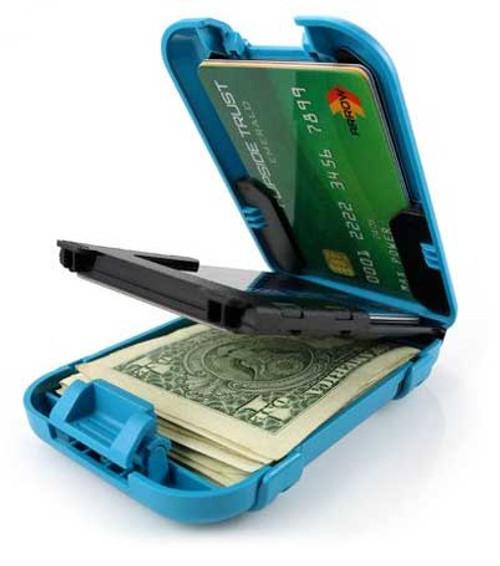 Flipside 4 Wallet flipped open