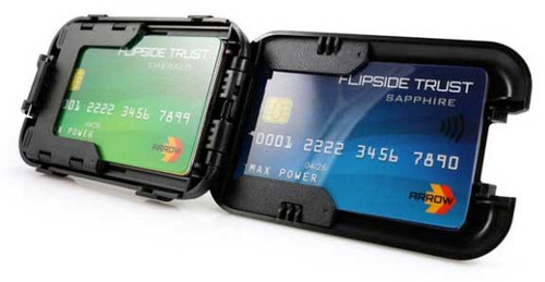 Flipside 4 Wallet open view