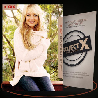 Britney Spears [ # 221-UNC ] PROJECT X Numbered cards / Limited Edition