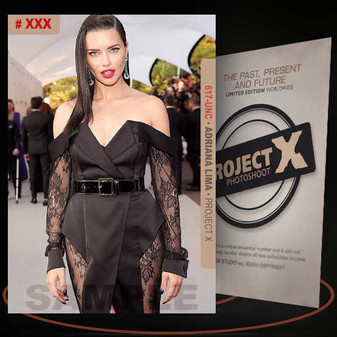 Adriana Lima [ # 617-UNC ] PROJECT X Numbered cards / Limited Edition