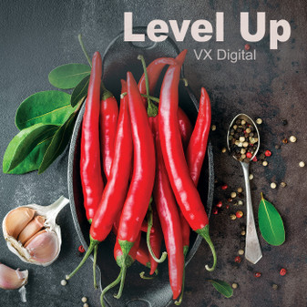 Level Up / High Quality 1280 × 720 Mp4 Video Clip by VX Digital Productions 2019