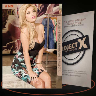 Brenda Zambrano [ # 720-UNC ] PROJECT X Numbered cards / Limited Edition