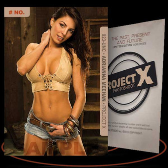 Adrianna Meehan [ # 923-UNC ] PROJECT X Numbered cards / Limited Edition