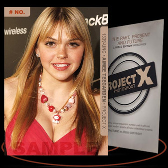 Aimee Teegarden [ # 1339-UNC ] PROJECT X Numbered cards / Limited Edition