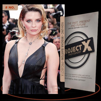 Mischa Barton [ # 1624-UNC ] PROJECT X Numbered cards / Limited Edition