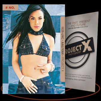 Aaliyah [ # 1628-UNC ] PROJECT X Numbered cards / Limited Edition