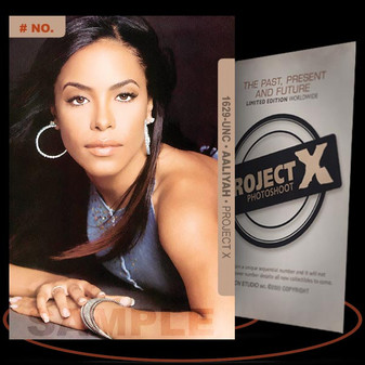 Aaliyah [ # 1629-UNC ] PROJECT X Numbered cards / Limited Edition