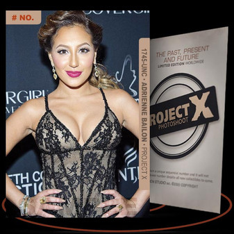 Adrienne Bailon [ # 1745-UNC ] PROJECT X Numbered cards / Limited Edition