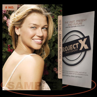 Adrianne Palicki [ # 1979-UNC ] PROJECT X Numbered cards / Limited Edition