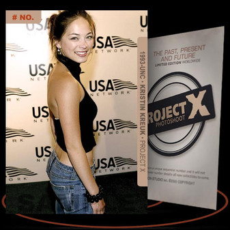 Kristin Kreuk [ # 1993-UNC ] PROJECT X Numbered cards / Limited Edition