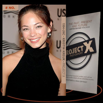 Kristin Kreuk [ # 1994-UNC ] PROJECT X Numbered cards / Limited Edition