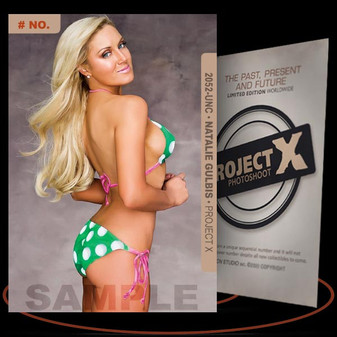 Natalie Gulbis [ # 2052-UNC ] PROJECT X Numbered cards / Limited Edition