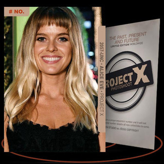 Alice Eve [ # 2057-UNC ] PROJECT X Numbered cards / Limited Edition