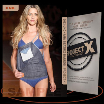 Ana Beatriz Barros [ # 2063-UNC ] PROJECT X Numbered cards / Limited Edition