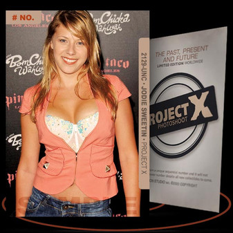 Jodie Sweetin [ # 2129-UNC ] PROJECT X Numbered cards / Limited Edition