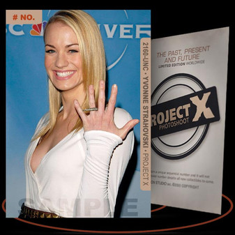 Yvonne Strahovski [ # 2160-UNC ] PROJECT X Numbered cards / Limited Edition