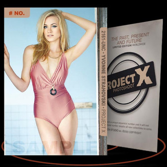 Yvonne Strahovski [ # 2161-UNC ] PROJECT X Numbered cards / Limited Edition
