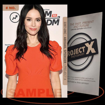 Abigail Spencer [ # 2207-UNC ] PROJECT X Numbered cards / Limited Edition