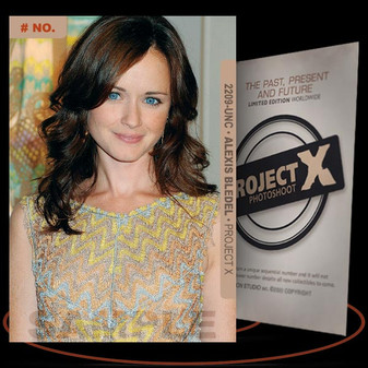 Alexis Bledel [ # 2209-UNC ] PROJECT X Numbered cards / Limited Edition