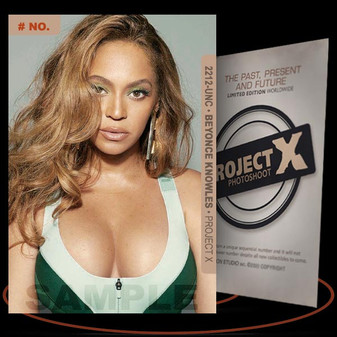 Beyonce Knowles [ # 2212-UNC ] PROJECT X Numbered cards / Limited Edition