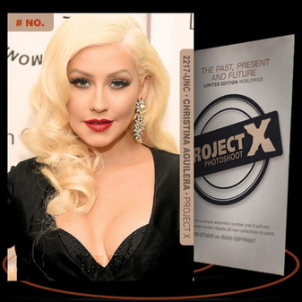 Christina Aguilera [ # 2217-UNC ] PROJECT X Numbered cards / Limited Edition