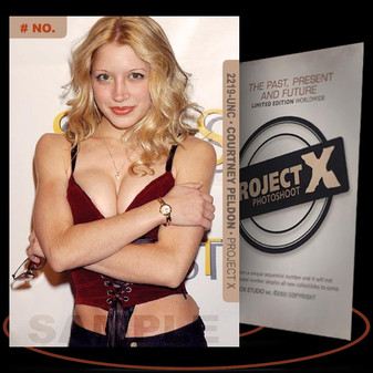 Courtney Peldon [ # 2219-UNC ] PROJECT X Numbered cards / Limited Edition